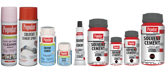 Solvent Cement – Spray, Extra Strength, Quick/Fast Jointing, Less Wastage, Prevents Leakages