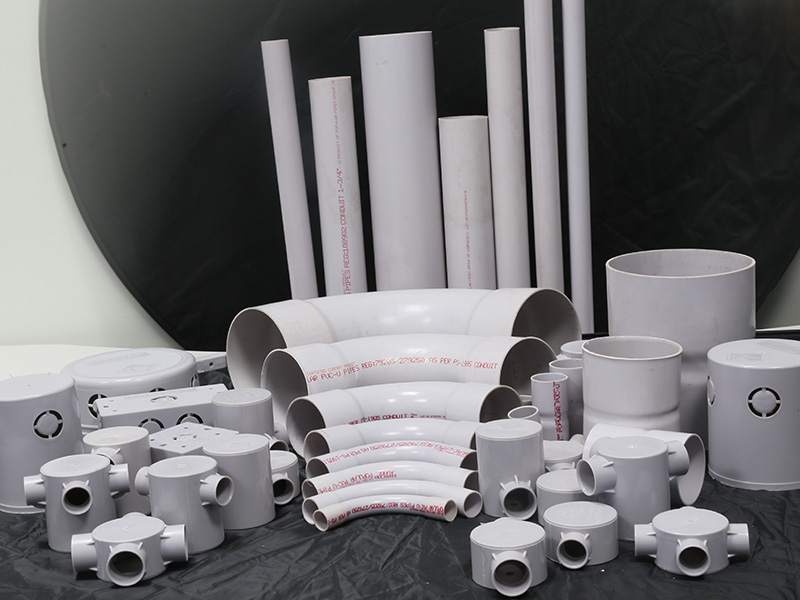 Electrical Conduit Pipes & Fitting High mechanical strength for buried and open application Do not support combustion and are self-extinguishing