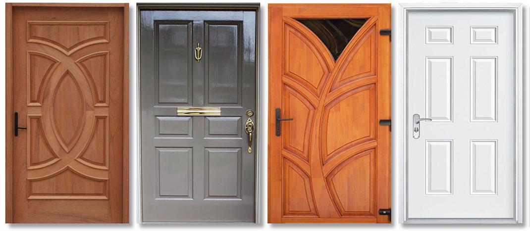 PVC board doors