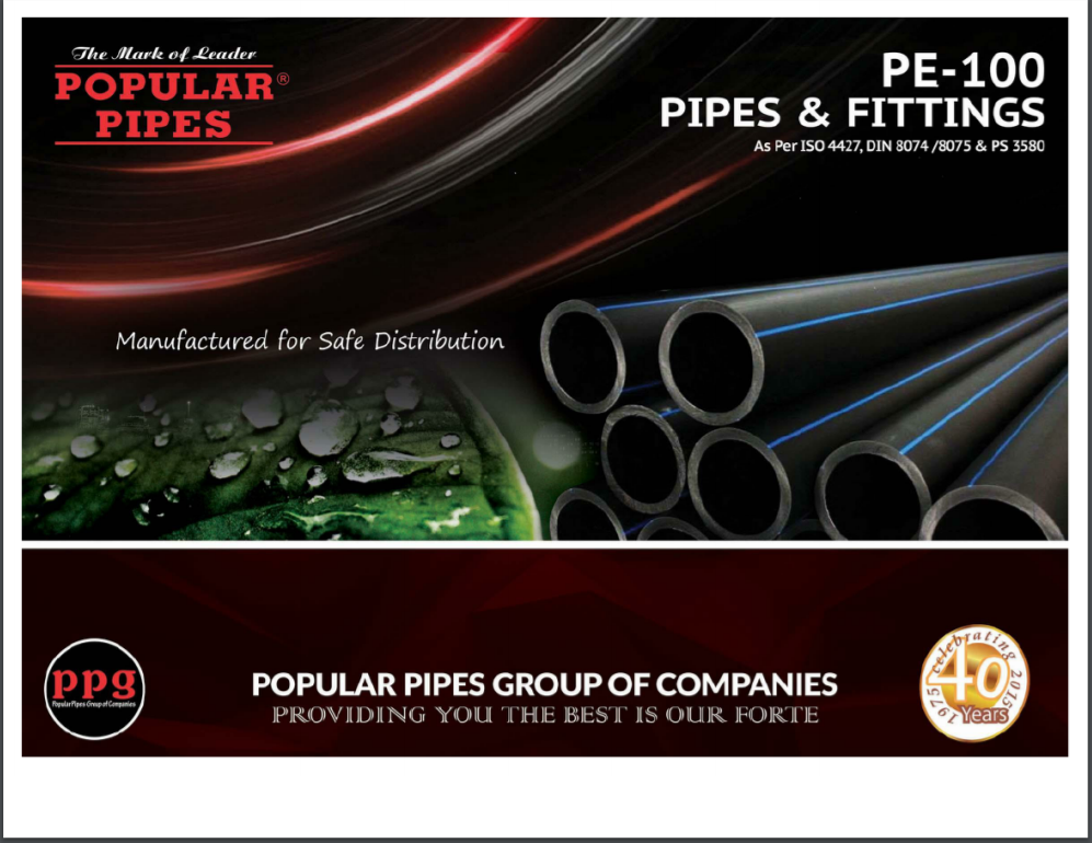 Popular HDPE Pipes Brochure
