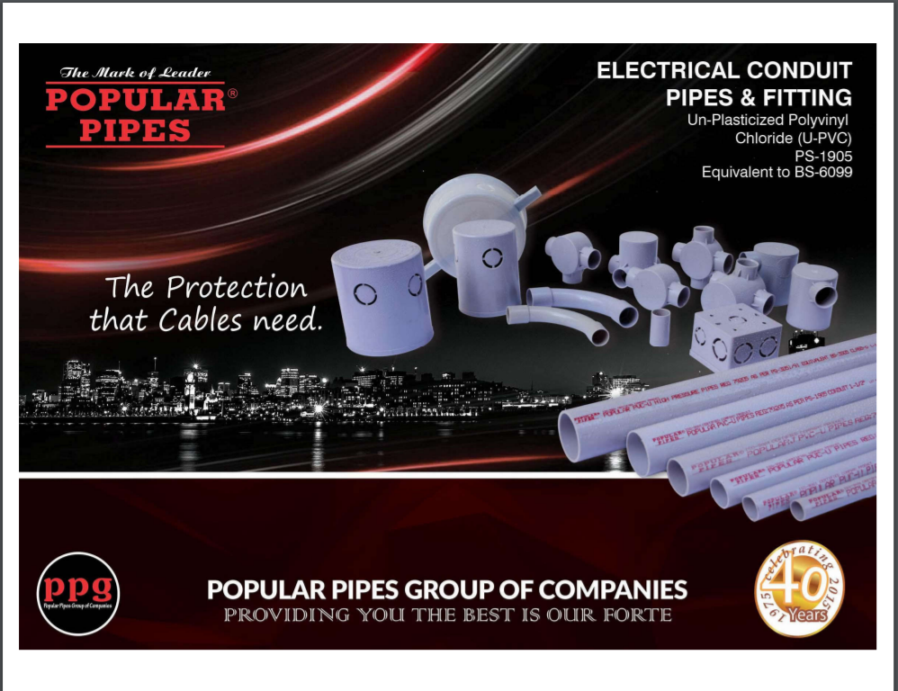 Electrical Conduit Pipes & Fitting Brochure
