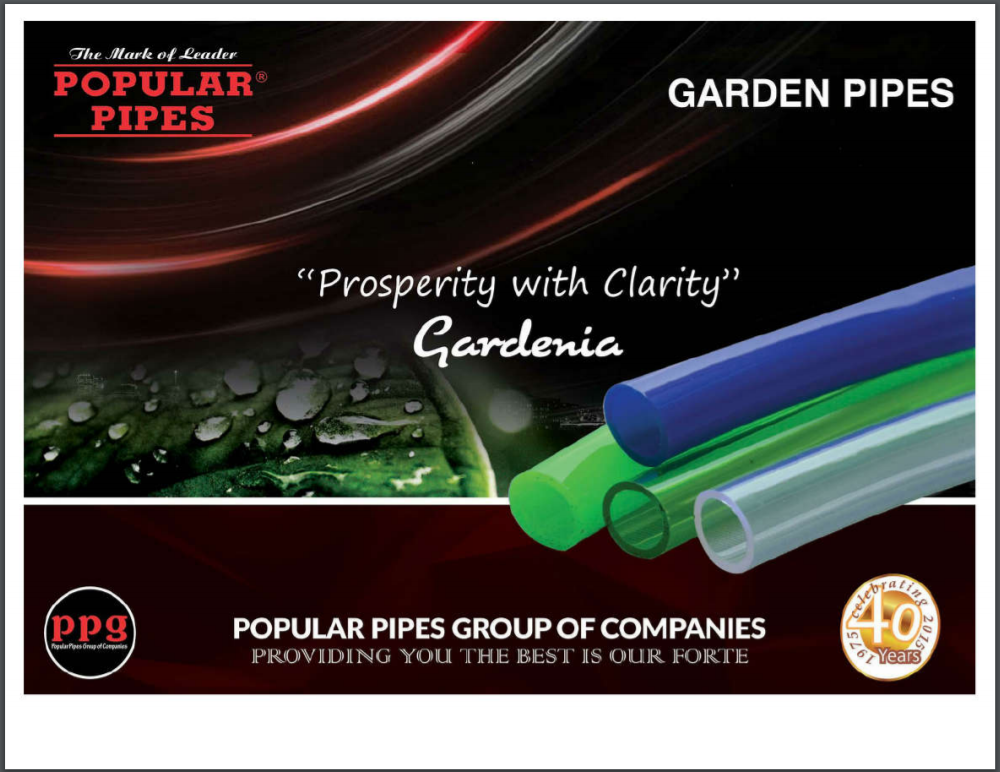 Popular Garden Pipes Brochure