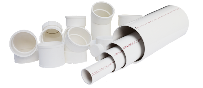 UPVC PIPES: SDR SERIES : Non Corrosive Non Flammable Light Weight